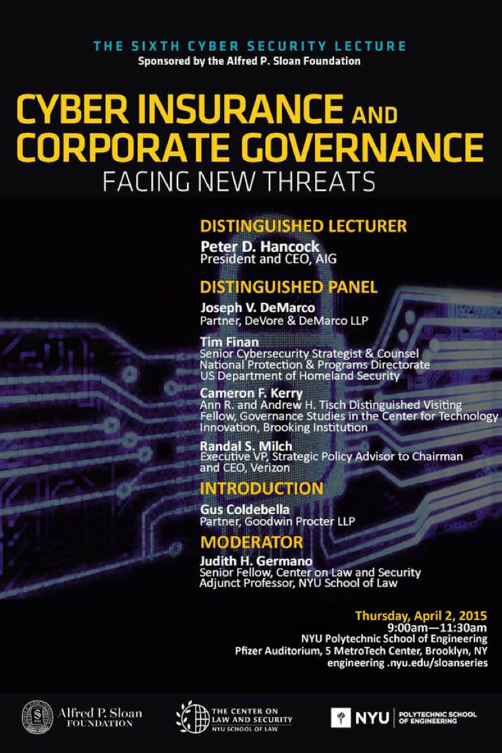 Cyber Insurance and Corporate Governance: Facing New Threats