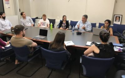Former NCTC Director Nick Rasmussen Meets with NYU Law Students