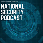 National Security Podcast logo