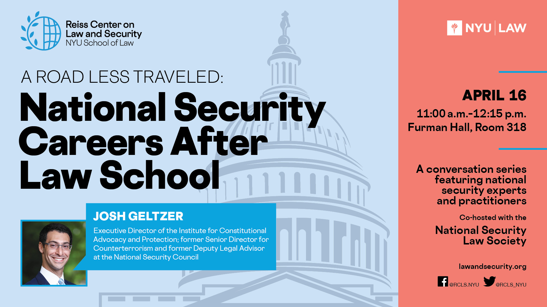 A Road Less Traveled: National Security Careers After Law