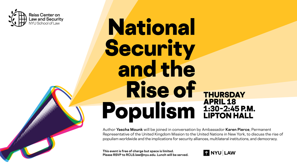 National Security and the Rise of Populism Poster