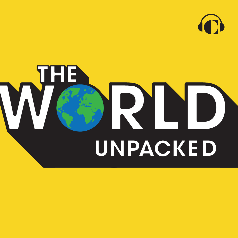 the World Unpacked podcast logo