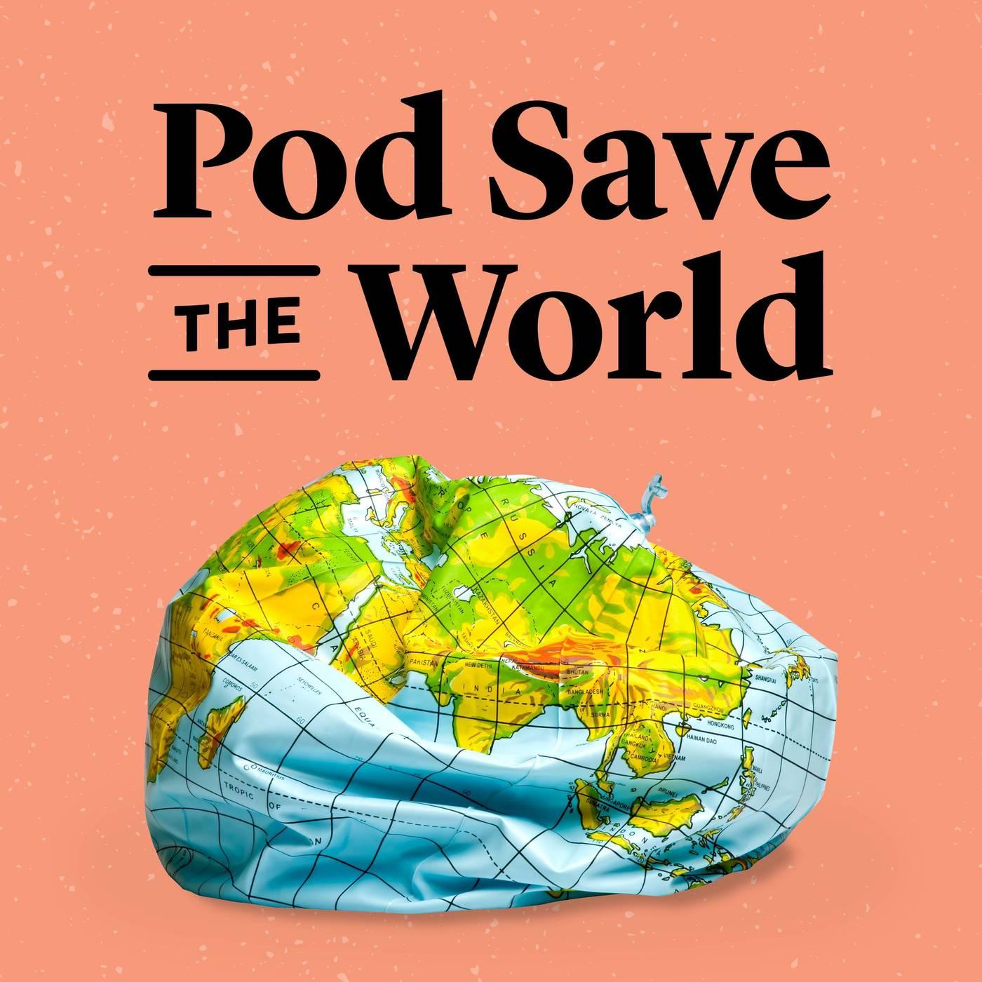Pod Save the World logo