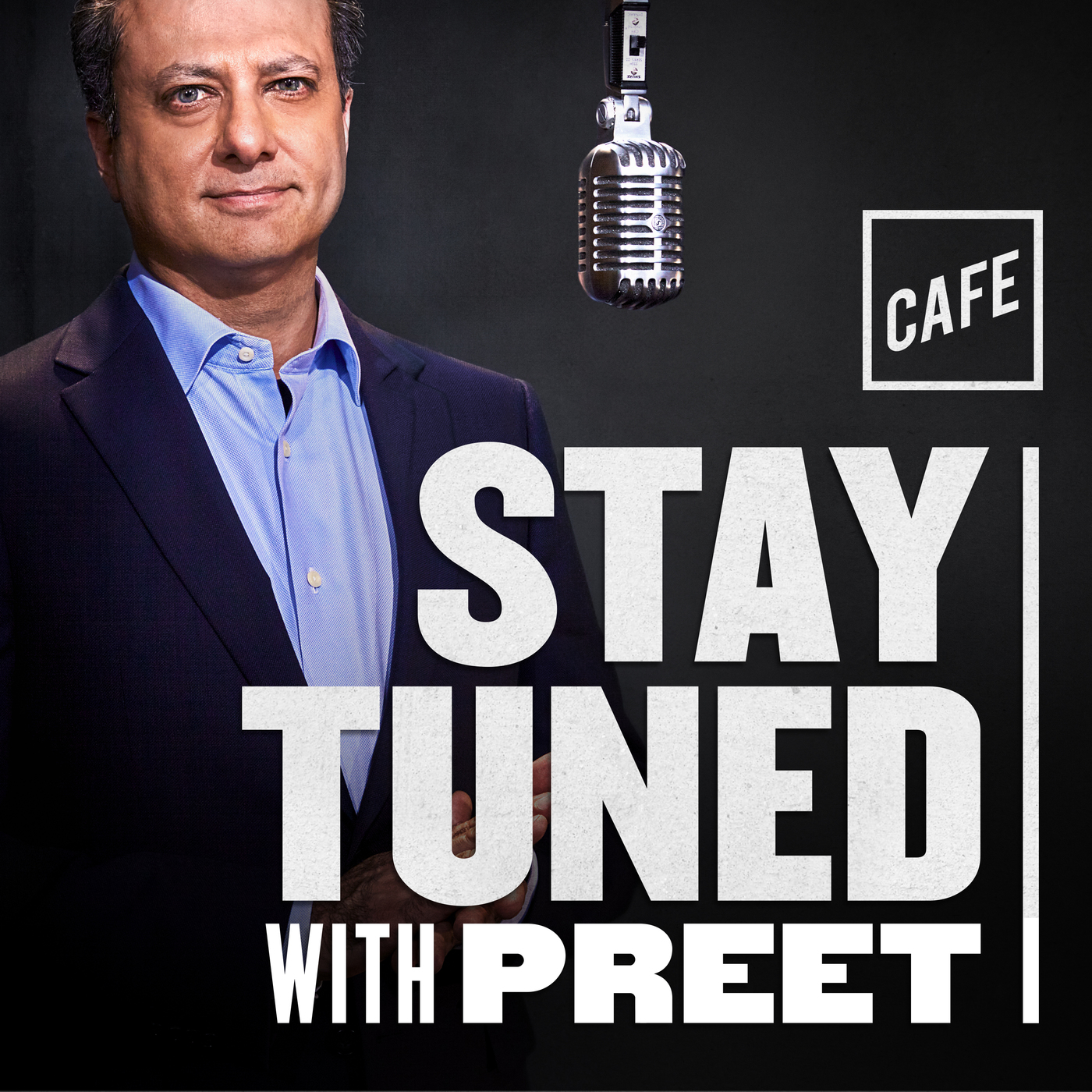 Logo for Stay Tuned with Preet podcast