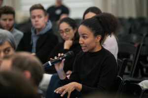 NYU Law Student asking question