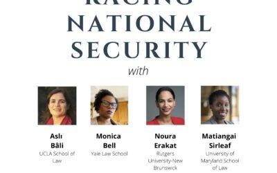 Racing National Security