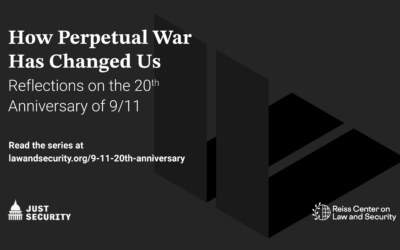 How Perpetual War Has Changed Us: Reflections on the Anniversary of 9/11